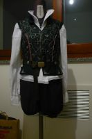 Ezio Auditore - noble florentine outfit - WIP 3 by Nymie