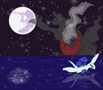 Dreams of Moon and Sea by SeaAndSunshine
