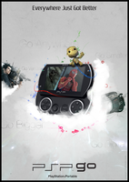 PSP GO by mushir