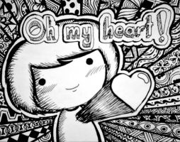 Oh my heart by Kevileo