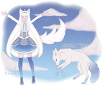 Adopt - White Wolf (CLOSED) by SweetKonata