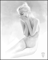 Black and white study by emilus