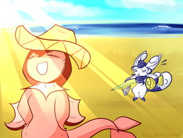 Beach Fun by Rv-Scarlet