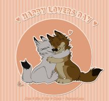 Happy Lovers Day by Pample