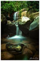 Serenity Falls Rock Pool by jaydoncabe
