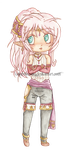 [OW] Lycoris Chibi by KnightLycoris