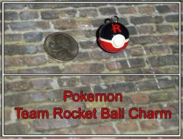 Pokemon Team Rocket Ball Charm by YellerCrakka