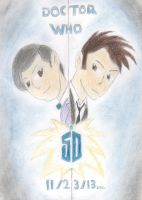 Doctor Who 50th special: coming soon by BrogarArts