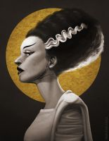 The Bride of Frankenstein by Sh3lly