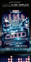 Mixer Flyer Template by yAniv-k