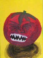 Killer tomato 3 by LaurenWiles