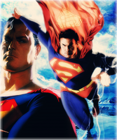 Man of Steel by wild-kard2003