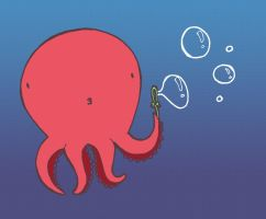 Mr. Octobubble by Mazdi