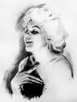 Marilyn Monroe by noimean