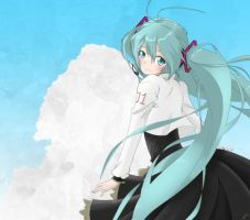 Hatsune Miku - Sky is the Limit by rlxa