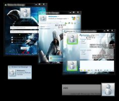 Assassins Creed msn SKin by Emersonpriest