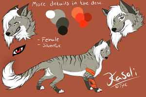 Kasoli Ref. sheet 2013 by Tenynn