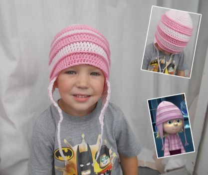 Stripey Ears Pattern by Yarn Busters by Riala