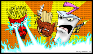 WE ARE THE AQUA TEENS by ManiacTHP