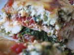Lasagne alla spinaci e tofu-ricotta by flameshaft