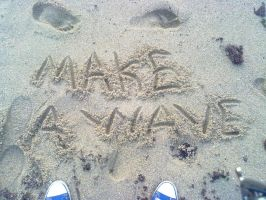 Make A Wave by crazy4demi