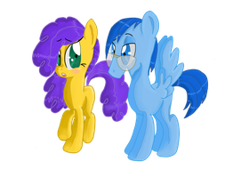 Mom and Dad Ponified by Lovelye