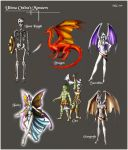 Ultima Online's monsters by Horphelia