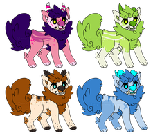 Fuu dog adoptebles {paypal} 4/4 by LoserDoge