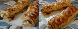 Garlic Prawn, Bacon and Cheese Rolls by foquinha156