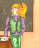 When does the class end? by Bluejotain