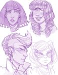 Monster High Sketches by damsel-in-distrust