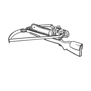 Crossbow chainsaw by Toomanypenguins
