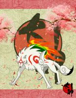Okami fan art contest by cicakkia