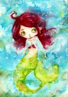 little mermaid by faQy