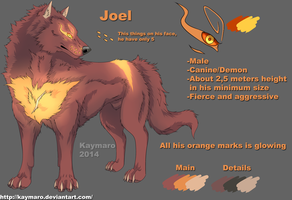 Joel reference sheet(OLD) by Kaymaro