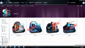 DTU Libraries Icons mods. by Fiazi