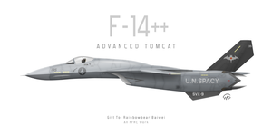 F-14++ ADVANCED TOMCAT by fighterman35