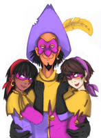 Clopin's Bitches by Kittykatpaws