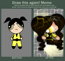 Lil Improvement in this Meme: Electric Powerpuff by Syico
