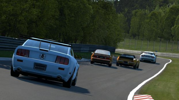 Cruising the Nordschleife by Codaulux