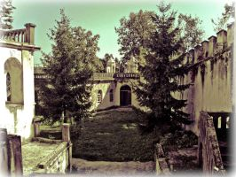 Old Town Bosiljevo by darkoantolkovic