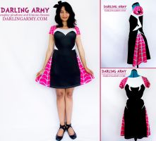 Spider Gwen Inspired Cosplay Dress by DarlingArmy