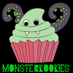 MonsterKookie Cupcake by Quill-of-Wonder