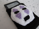 No face e-reader cover by fancystitch