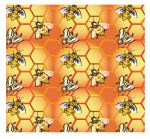 bee pattern by mclarksites
