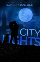 Book Cover 029 - City Lights by sohappilyart