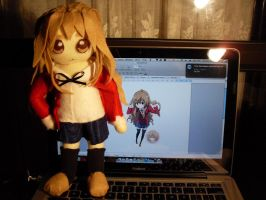 Taiga-chan Plushie by channellehazel