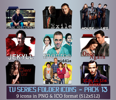 TV Series - Icon Pack 13 by apollojr