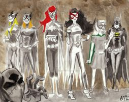Preboot Bat Ladies by s133pDEADart