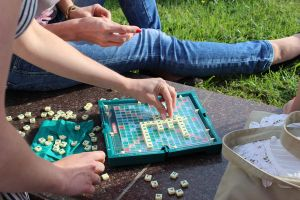 playing scrabble by LifeFun